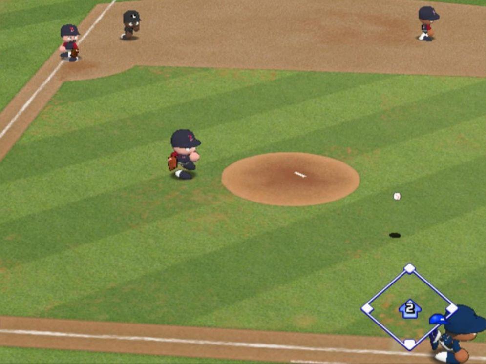Screenshot ze hry MLB Power Pros 2008 - Recenze-her.cz