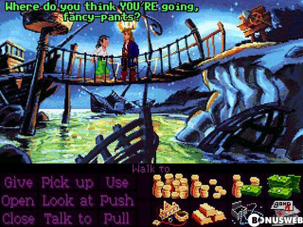 Screenshot ze hry Monkey Island 2: LeChuck´s Revenge - Recenze-her.cz