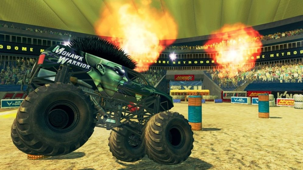 Screenshot ze hry Monster Jam: Path of Destruction - Recenze-her.cz