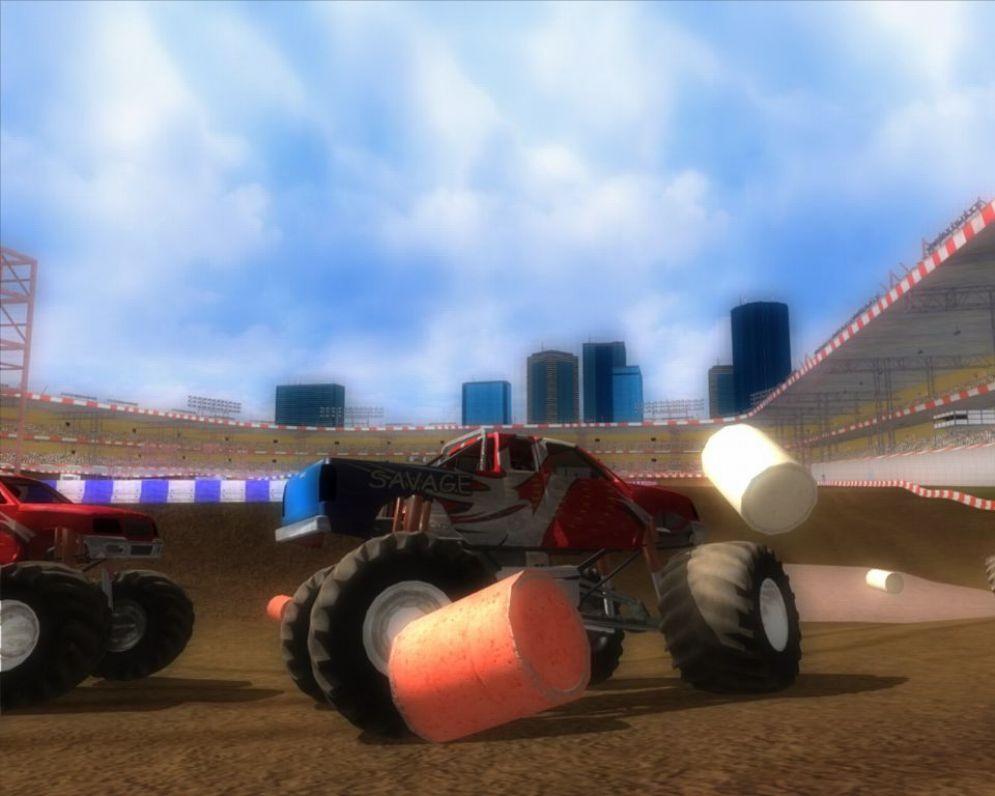 Screenshot ze hry Monster Truck Maniax - Recenze-her.cz