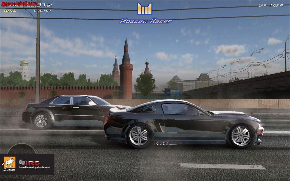 Screenshot ze hry Moscow Racer - Recenze-her.cz