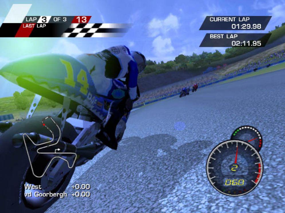 Screenshot ze hry MotoGP: Ultimate Racing Technology - Recenze-her.cz