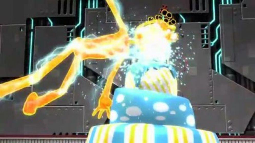 Screenshot ze hry Ms. Splosion Man - Recenze-her.cz