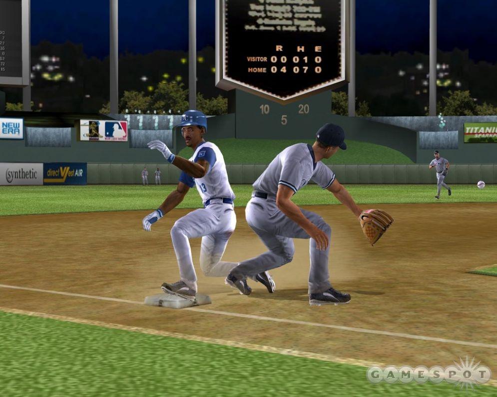 Screenshot ze hry MVP Baseball 2005 - Recenze-her.cz