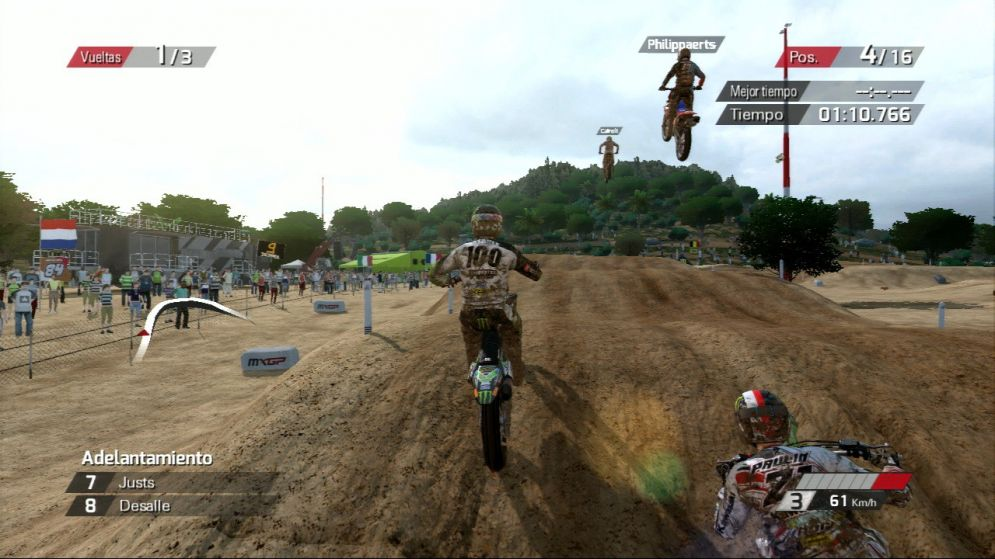 Screenshot ze hry MXGP: The Official Motocross Videogame - Recenze-her.cz