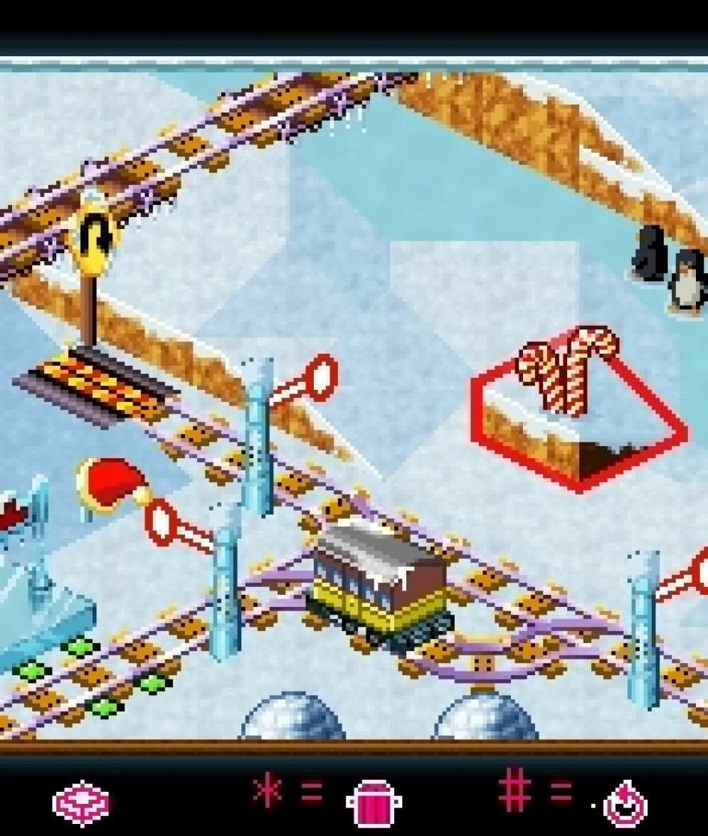 Screenshot ze hry My Model Train 2: Winter Edition - Recenze-her.cz