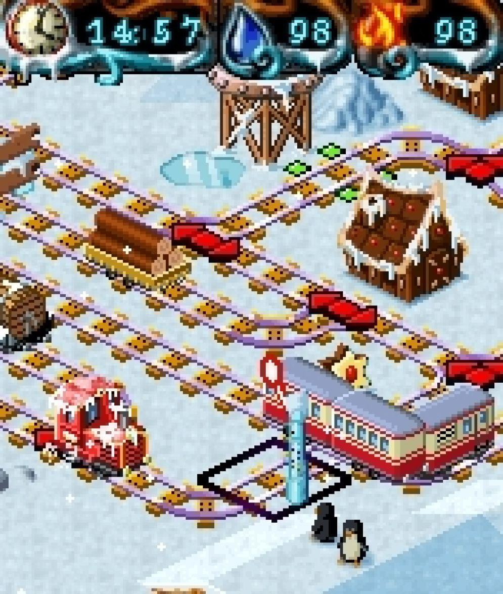 Screenshot ze hry My Model Train 2: Winter Edition - Recenze-her.cz