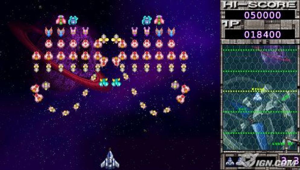 Screenshot ze hry Namco Museum Battle Collection - Recenze-her.cz