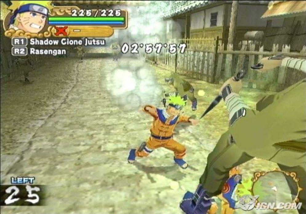 Screenshot ze hry Naruto: Uzumaki Chronicles 2 - Recenze-her.cz
