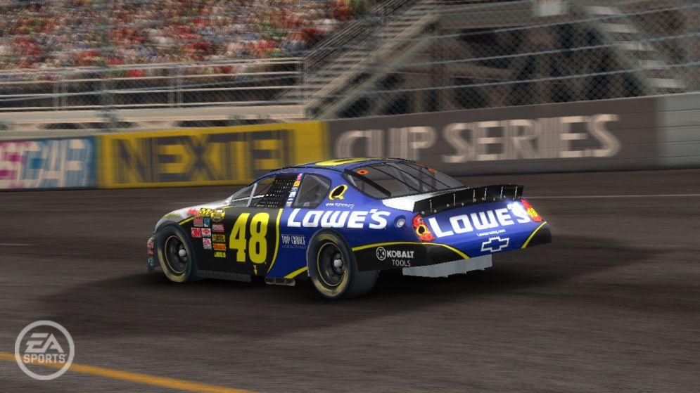 Screenshot ze hry NASCAR 08 - Recenze-her.cz