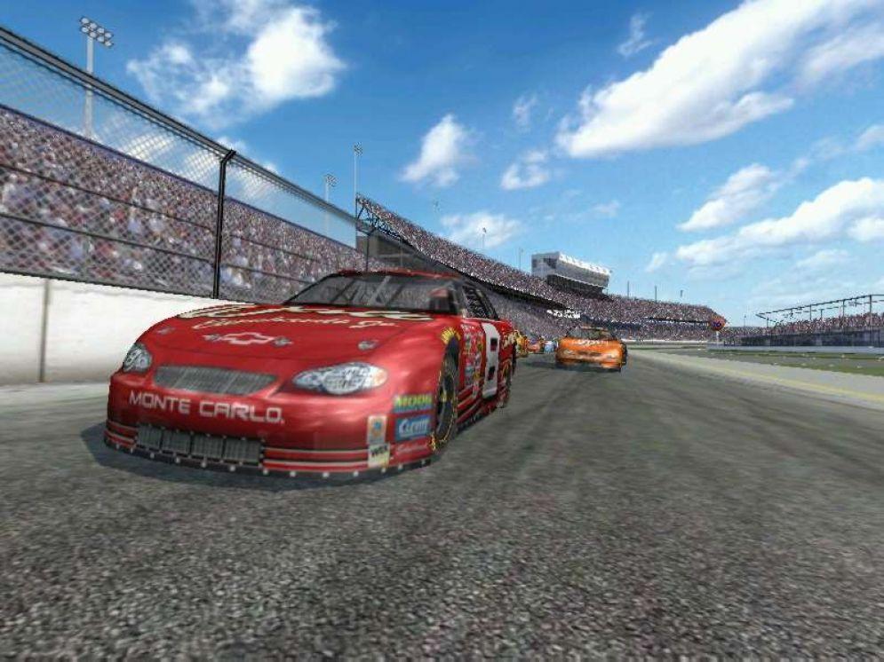 Screenshot ze hry NASCAR Racing 2003 Season - Recenze-her.cz