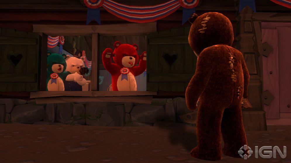 Screenshot ze hry Naughty Bear - Recenze-her.cz