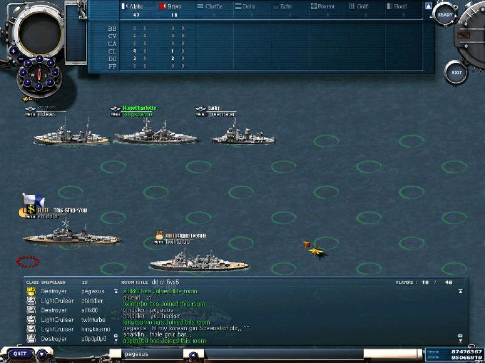 Screenshot ze hry Navy Field - Recenze-her.cz