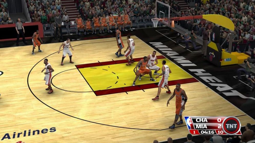 Screenshot ze hry NBA 09 The Inside - Recenze-her.cz