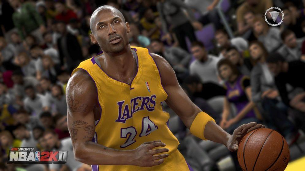 Screenshot ze hry NBA 2K11 - Recenze-her.cz