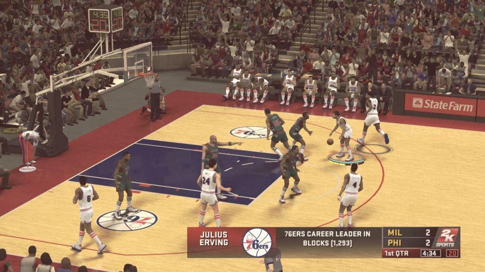 Screenshot ze hry NBA 2K12 - Recenze-her.cz
