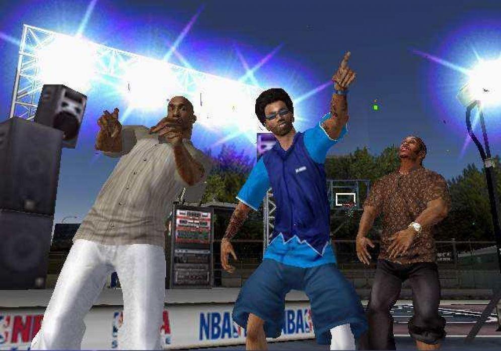 Screenshot ze hry NBA Ballers Phenom - Recenze-her.cz