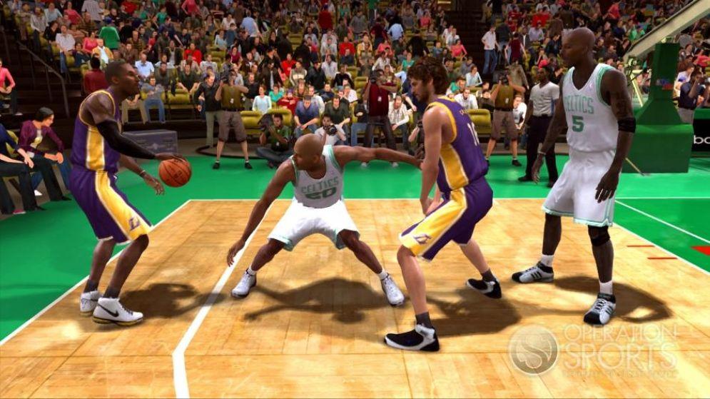 Screenshot ze hry NBA Live 09 - Recenze-her.cz