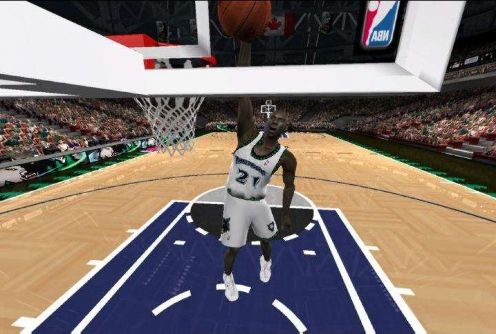 Screenshot ze hry NBA Live 2001 - Recenze-her.cz