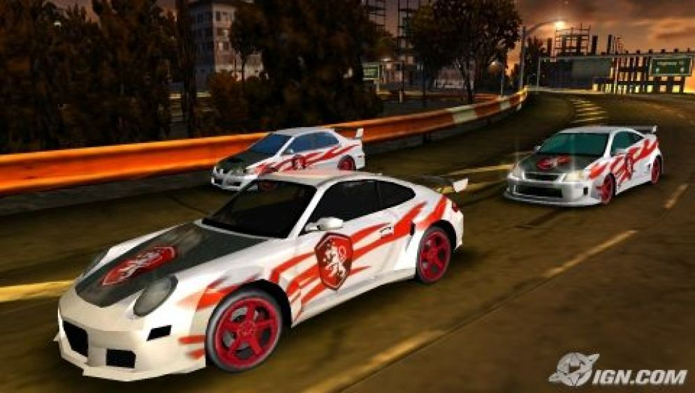 Screenshot ze hry Need for Speed Carbon: Own the City - Recenze-her.cz