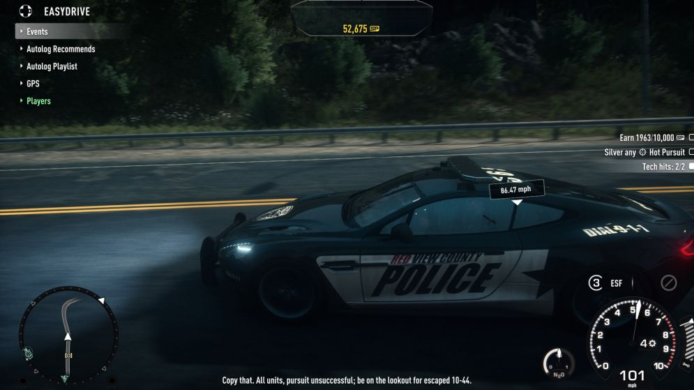 Screenshot ze hry Need For Speed: Rivals - Recenze-her.cz