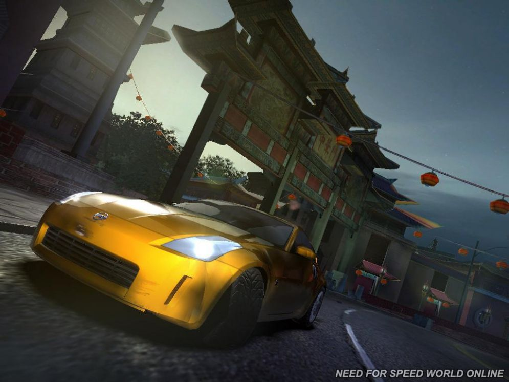 Screenshot ze hry Need for Speed: World Online - Recenze-her.cz