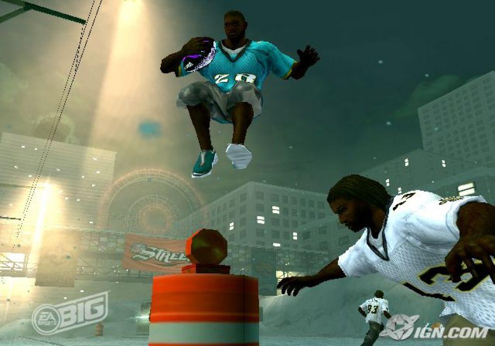 Screenshot ze hry NFL Street 3 - Recenze-her.cz