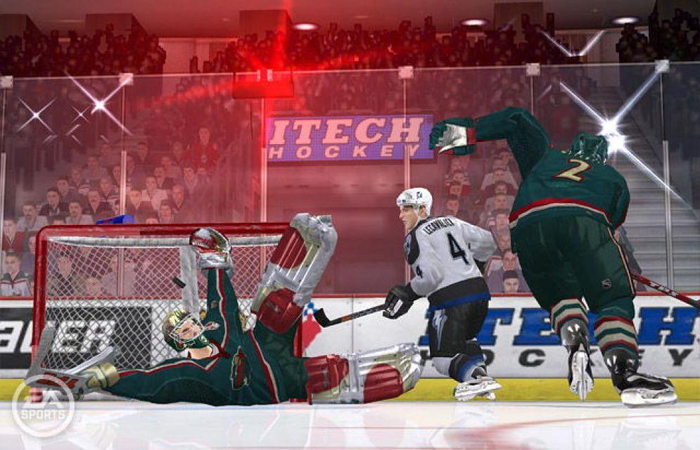 Screenshot ze hry NHL 06 - Recenze-her.cz