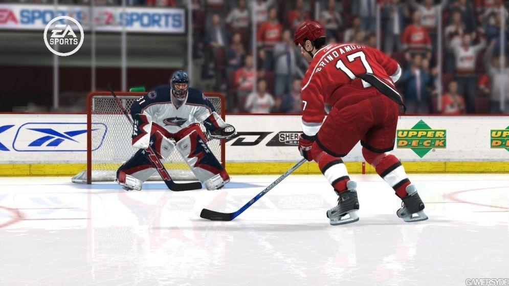 Screenshot ze hry NHL 08 - Recenze-her.cz