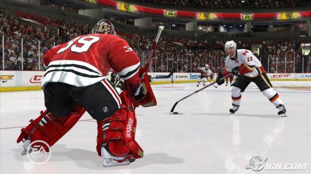 Screenshot ze hry NHL 10 - Recenze-her.cz