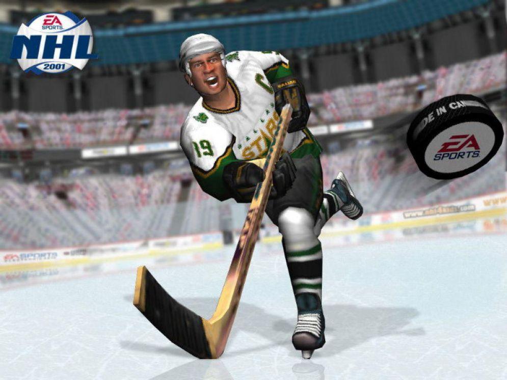 Screenshot ze hry NHL 2001 - Recenze-her.cz