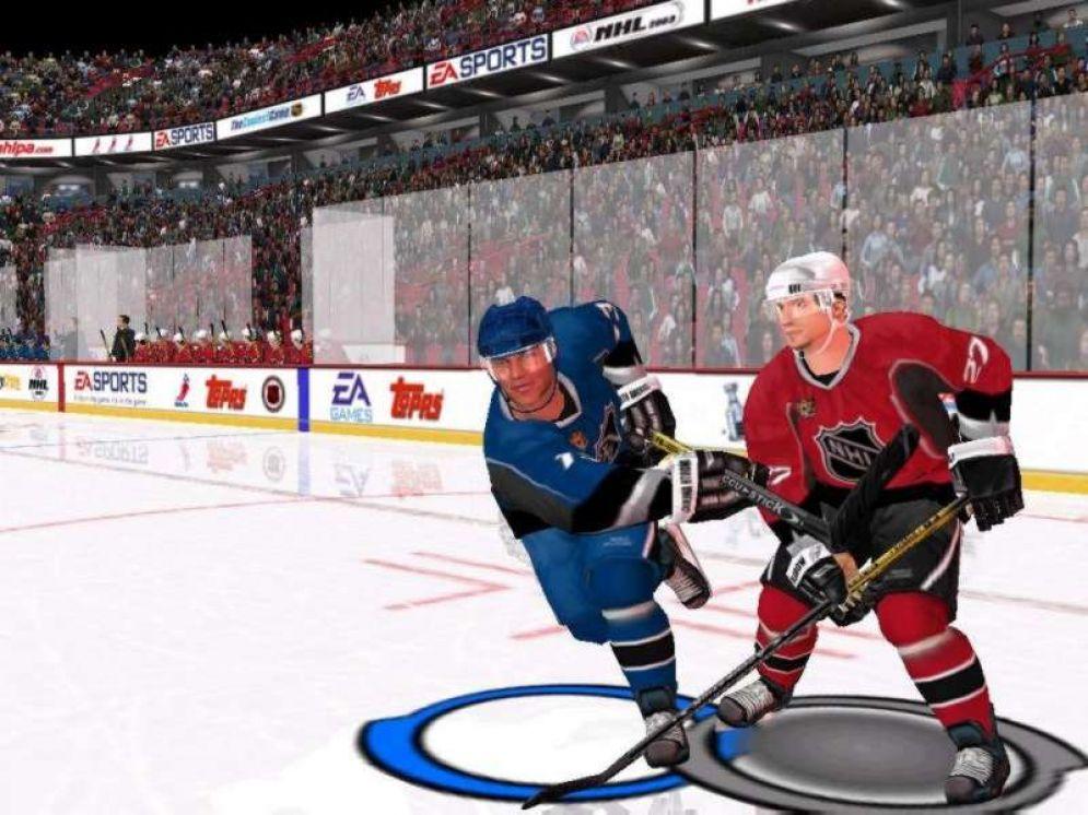 Screenshot ze hry NHL 2003 - Recenze-her.cz