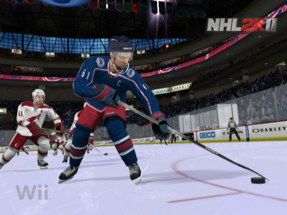 Screenshot ze hry NHL 2k11 - Recenze-her.cz