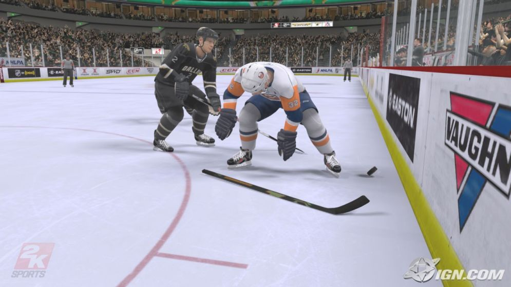 Screenshot ze hry NHL 2K9 - Recenze-her.cz