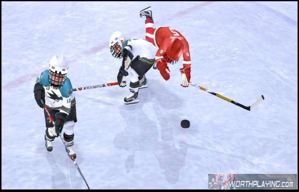 Screenshot ze hry NHL Slapshot - Recenze-her.cz