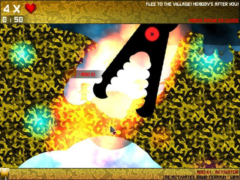 Screenshot ze hry Ninjamboore - Recenze-her.cz
