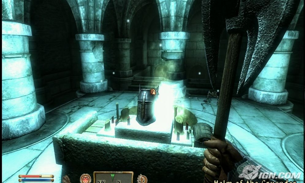 Screenshot ze hry Oblivion: Knights of the Nine - Recenze-her.cz
