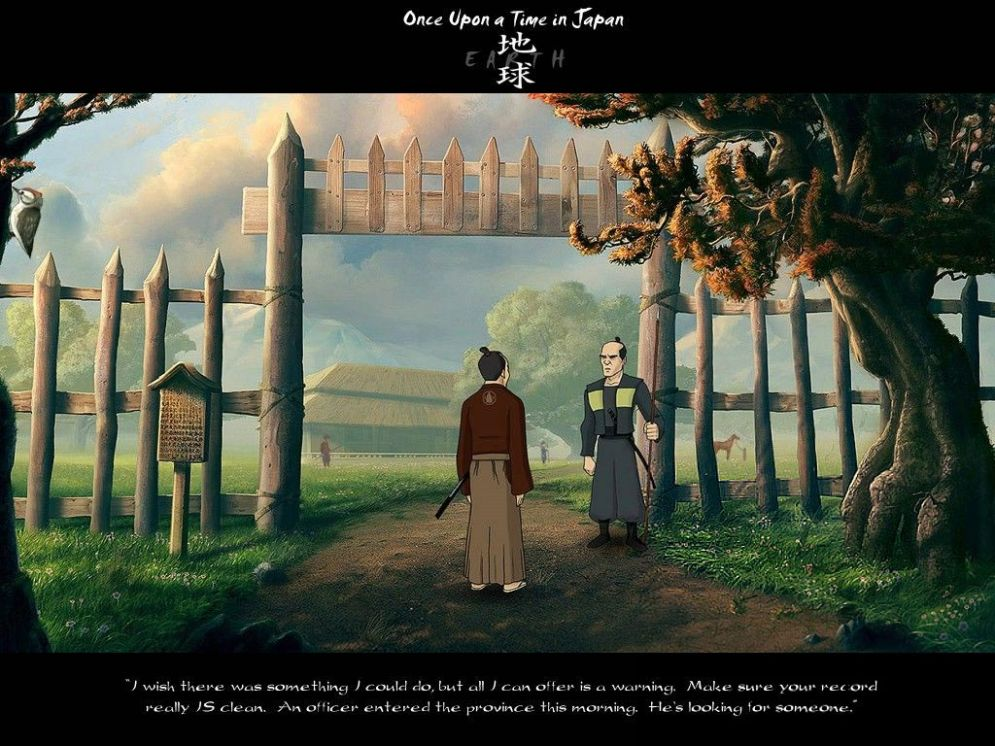 Screenshot ze hry Once Upon a Time in Japan: Earth - Recenze-her.cz