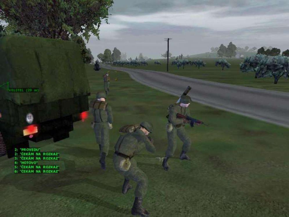 Screenshot ze hry Operation Flashpoint: Red Hammer - Recenze-her.cz