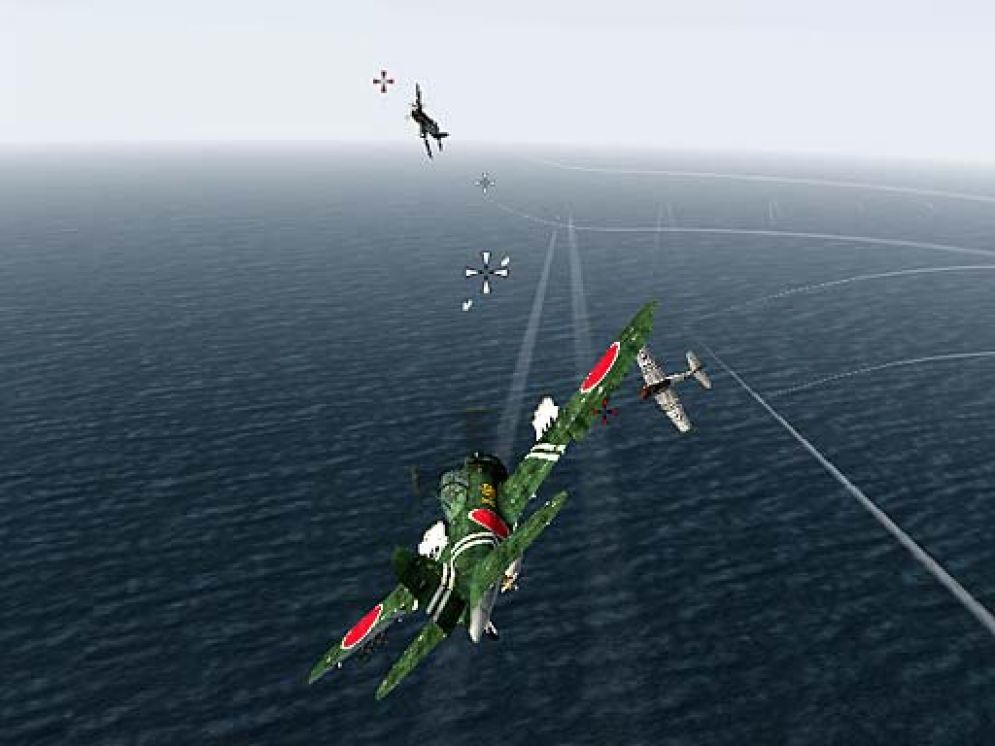 Screenshot ze hry Pacific Warriors 2 - Dogfight - Recenze-her.cz