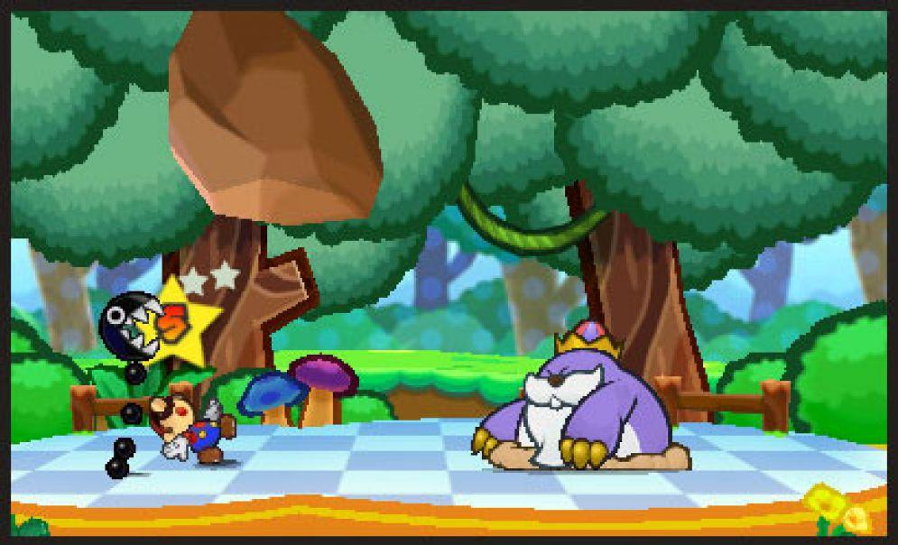 Screenshot ze hry Paper Mario 3DS - Recenze-her.cz