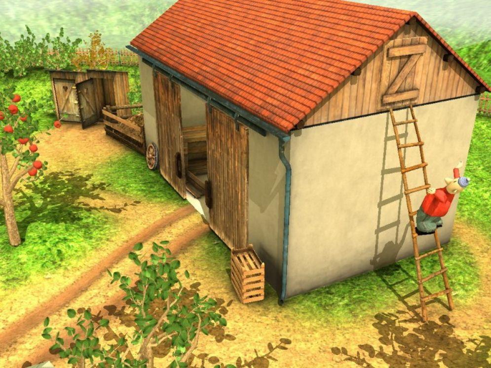 Screenshot ze hry Pat a Mat - Recenze-her.cz