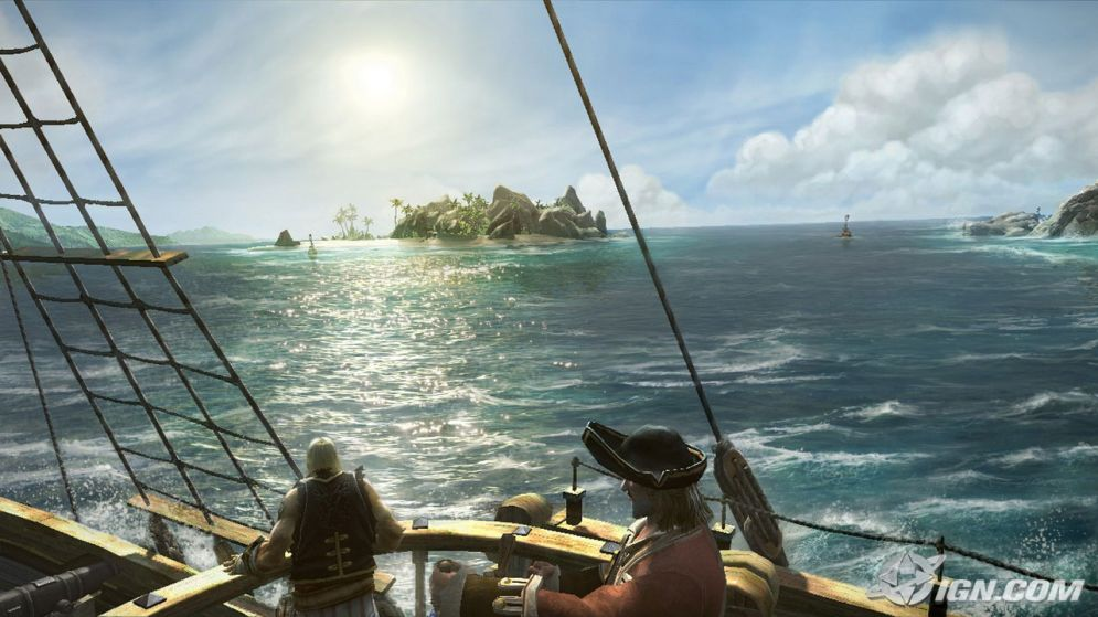 Screenshot ze hry Pirates of the Caribbean: Armada of the Damned - Recenze-her.cz