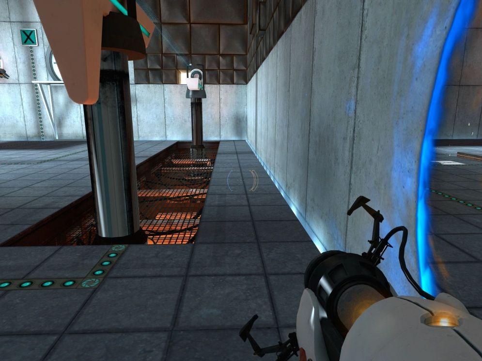 Screenshot ze hry Portal - Recenze-her.cz