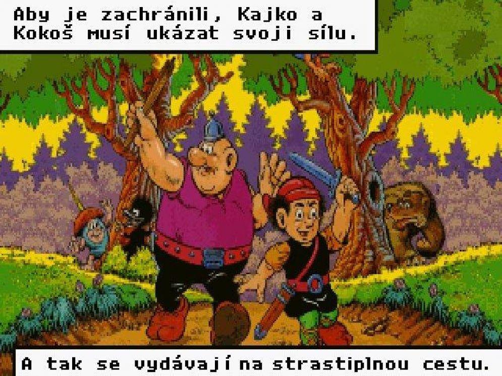 Screenshot ze hry Příhody z Galské země - Recenze-her.cz