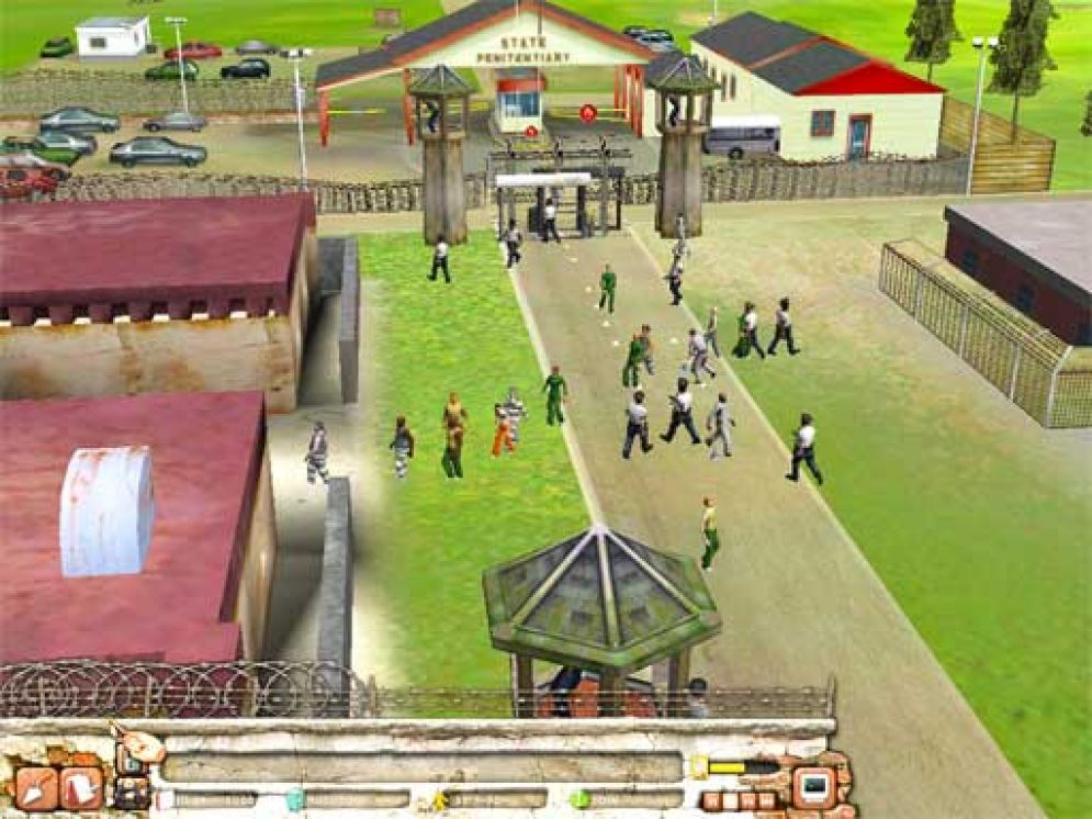 Screenshot ze hry Prison Tycoon 2: Maximum Security - Recenze-her.cz