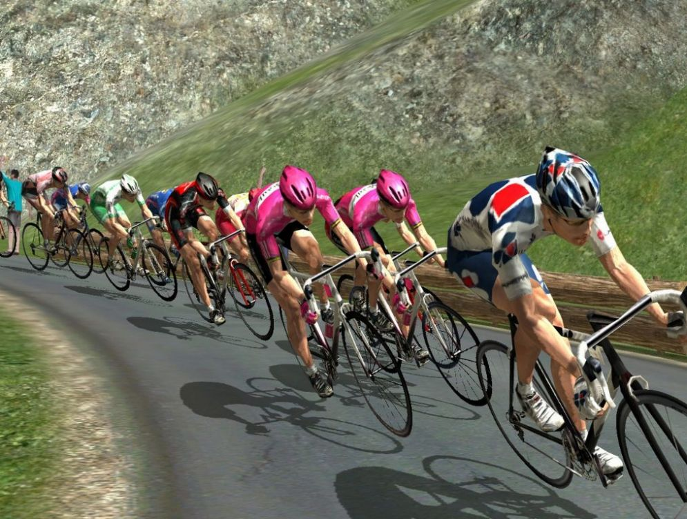 Screenshot ze hry Pro Cycling Manager 2007 - Recenze-her.cz