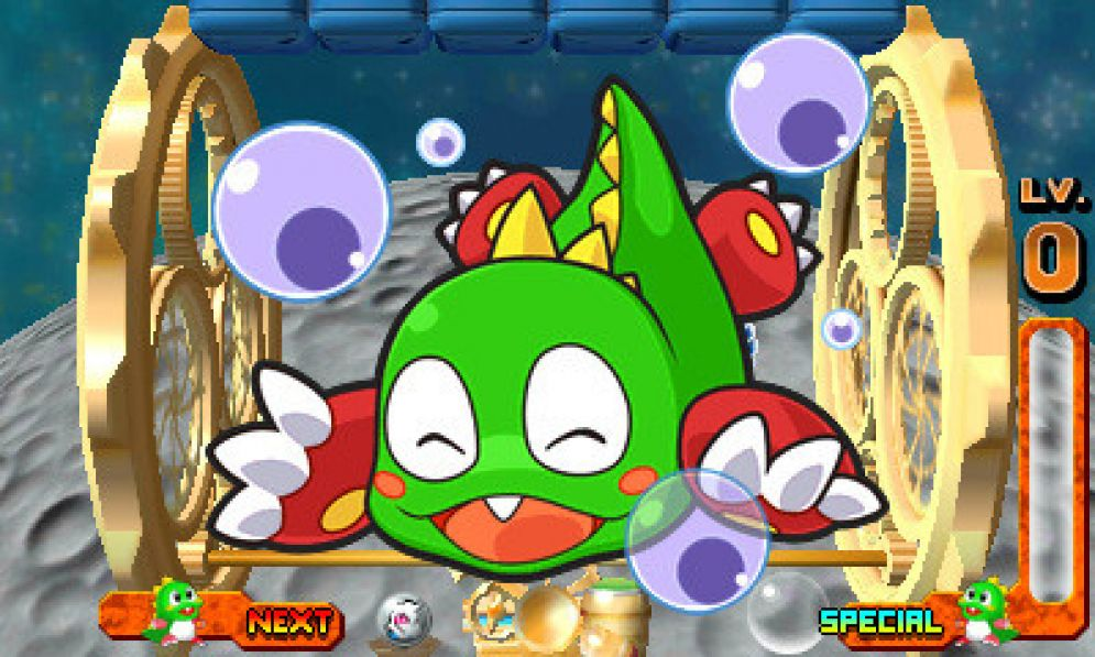 Screenshot ze hry Puzzle Bobble Universe - Recenze-her.cz