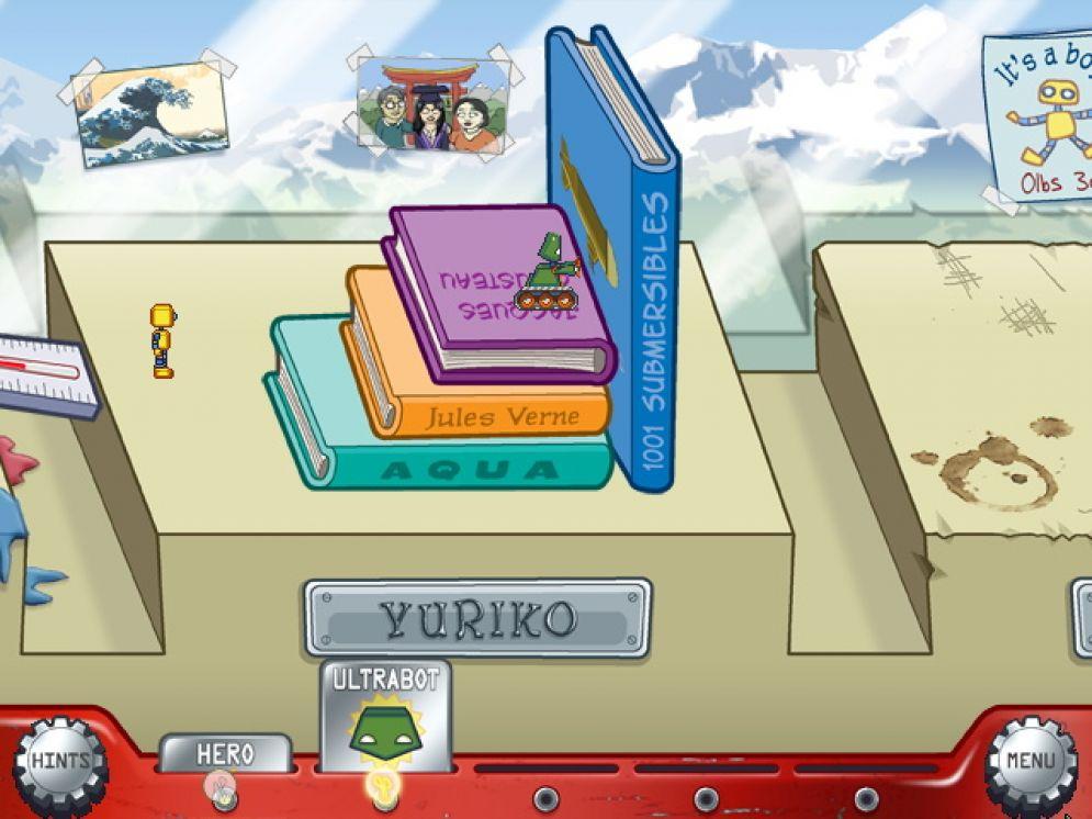 Screenshot ze hry Puzzle Bots - Recenze-her.cz