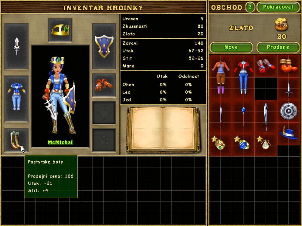 Screenshot ze hry Puzzle Hero - Recenze-her.cz